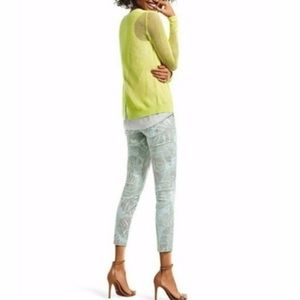 Cabi 10 tropical paradise crop stretch jeans #227